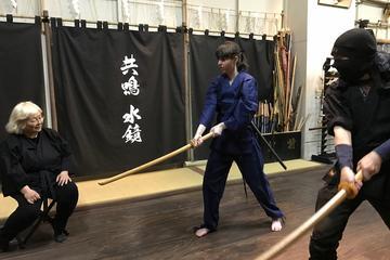 東京でのプライベートな忍者体験
