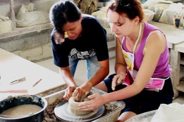 バリの陶芸品ワークショップとタナロット・サンセットの半日ツアー