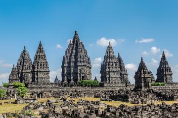 Javanês por um dia: excursão privada das vilas de Plaosan e o pôr do...