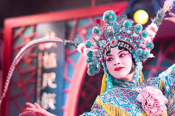 Beijing Night Tour Of Peking Opera Show Including Private Transfer