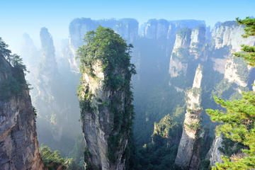 The Avatar Mountains of Zhangjiajie