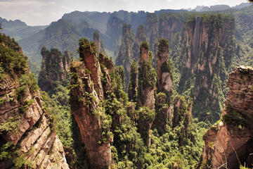 Private Day Trip: Zhangjiajie National Forest Park, Tianzi Mountain, and Helong Park