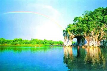 Private one day Guilin City Tour Including Elephant Trunk Hill, Fubo Hill And Reed Flute Cave