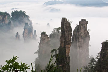 Zhangjiajie Private 4-Day Tour: Enshi Grand Canyon and Tianmen Mountain