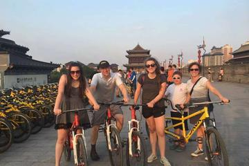 4-Hour Guided Trip: City Wall Biking and Calligraphy Class From Xi'an