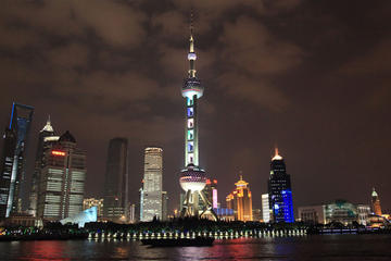 From Shanghai: Ancient Water Town and Night-view Cruise Trip