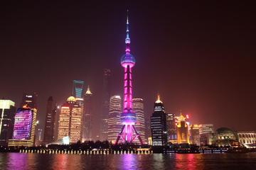 From Shanghai: The Bund and Night-view Cruise on Huangpu River