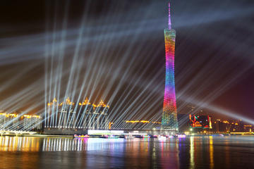 Guangzhou Night Tour of Pearl River Cruise with Buffet Dinner