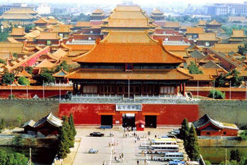 Private Day of Tiananmen Square, Forbidden City And Badaling Great Wall