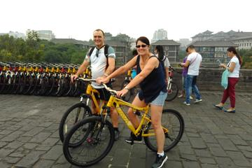 Xi'an Morning Tour: City Wall South Gate Opening Ceremony and Bicycle...