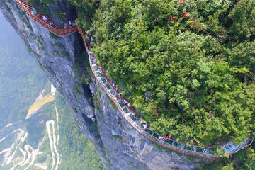 Zhangjiajie Private Trip of Tianmen Mountain Sky Walk and Tujia Custom Discovery
