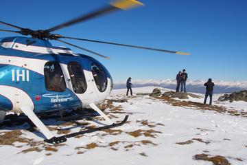 Ladybird Hill: Hubschrauberrundflug mit Führung durch ein Weingut und...