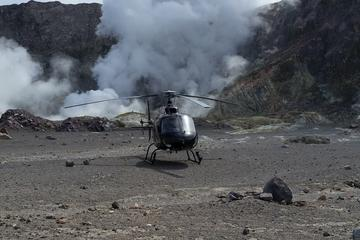 White Island Volcano Helicopter