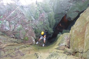 Marble Mountain Rappelling Tour with Temple and Cave Exploration from...