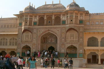 Private Tour: Half-Day Jaipur City Tour of Amber Fort with Jeep Ride