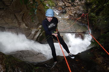 Canyoning in Casahurco from Baños