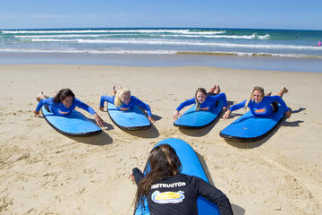 Learn to Surf at Coolangatta on the...