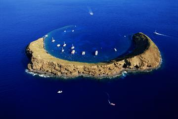 Viagem para mergulho com snorkel com uma parada na luxuosa Molokini