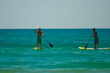 Stand Up Paddle Board Lesson on South Padre Island
