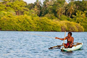 Excursion d'une journée de pêche sur le fleuve à Balapitiya