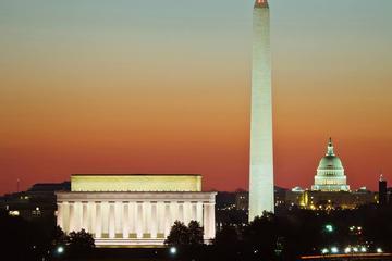 Excursão ao anoitecer em Washington DC