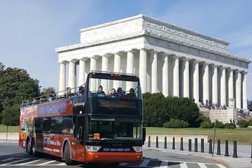 Excursão com várias paradas pelos pontos essenciais de Washington DC...