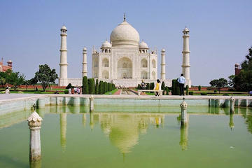 Excursión privada: excursión de un día al Taj Mahal y a Agra desde...
