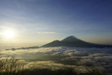 Early Morning Sunrise Mt Batur Trekking