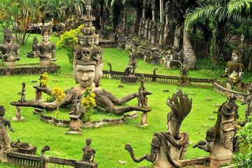 Full Day Vientiane Sightseeing Trip with Buddha Park Visit