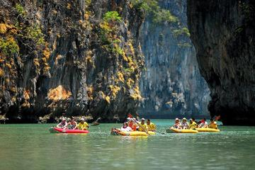 Grotte de la mer de Phuket en canoë-kayak