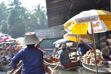 Mercados Flutuantes de Damnoen Saduak