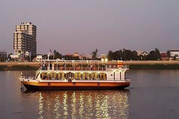 Phnom Penh Evening Dinner Cruise Including Hotel Pickup
