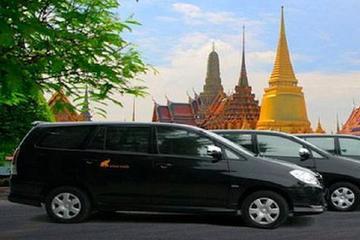 Transfert d'arrivée partagé de l'aéroport international de Bangkok à...