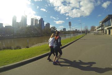 Recorrido de running al amanecer en Melbourne y el valle del Yarra...