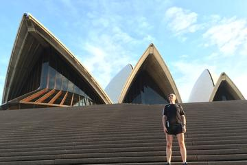 Sydney Harbour Sights Morning Running ...