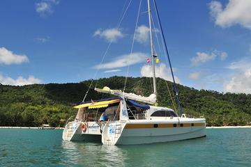 Full-Day Private Catamaran Charter from Koh Samui Including Chef