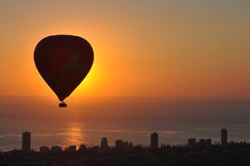 Balão de ar quente de luxo da Gold Coast com café da manhã com vinho...
