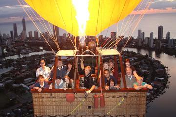 Vol express en montgolfière au-dessus de la côte d'or