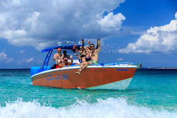 Sightseeingcruise met snorkelen op Sint Maarten