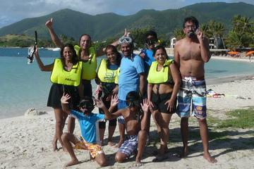Visite privée à Saint-Martin: plongée avec tuba, observation...