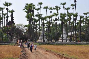 Transfert privé de l'aéroport de Mandalay et excursion dans villes...