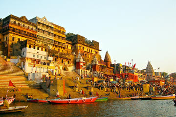 6-Day Private Delhi-Agra Tajmahal-Jaipur-Varanasi Ganges Tour from New Delhi