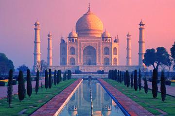 Recorrido por la ciudad privado de Agra y Taj Mahal al amanecer