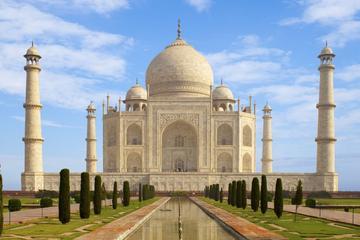 Visite privée d'une journée complète au Taj Mahal et à Agra au départ...
