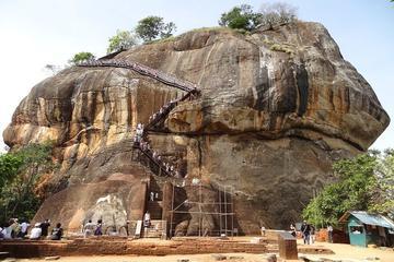Excursion d'une journée à Sigiriya au départ de Kandy