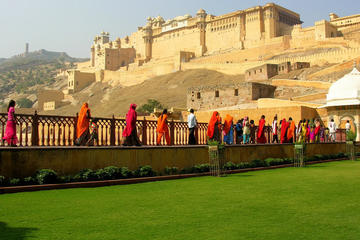 Fully Guided Jaipur City Tour With Traditional Dinner With an Indian Family