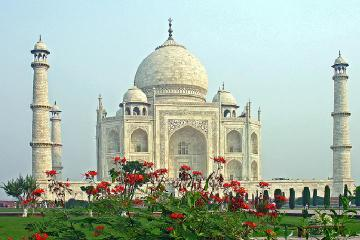 Taj Mahal and Agra Day Tour from...