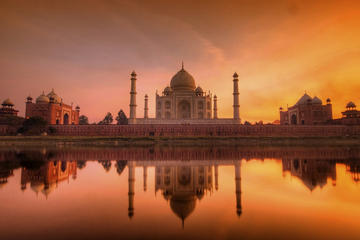 Taj Mahal & Agra Full Day Tour From New Delhi With Drop At Jaipur