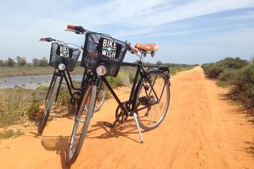 Excursão de bicicleta do Parque Nacional de Ria Formosa