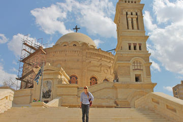 Half-Day Private Tour of Coptic Cairo Including Saint Simon Church in Moqqatam